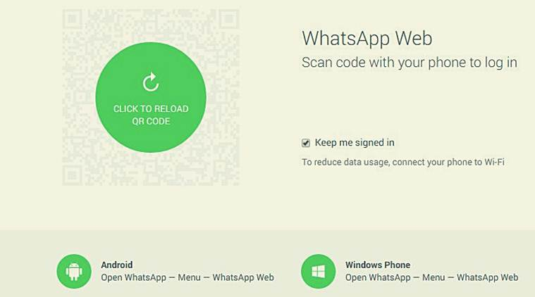WhatsApp for web launched