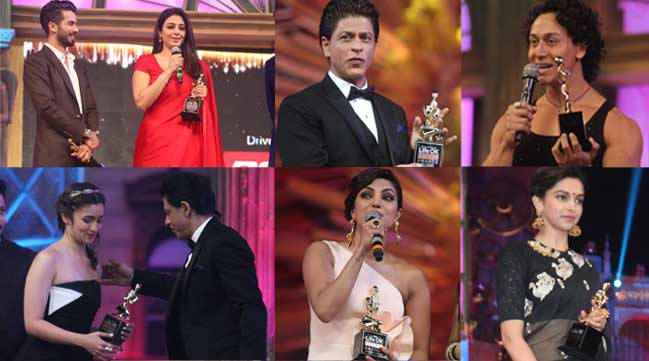 Winners at 21st Annual LifeOK Screen Awards: Shahid, Priyanka, Shah Rukh Khan, Deepika