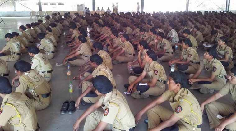 Women Police training, Women cops
