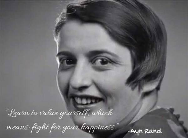 Did Ayn Rand believe people should take care of their children?