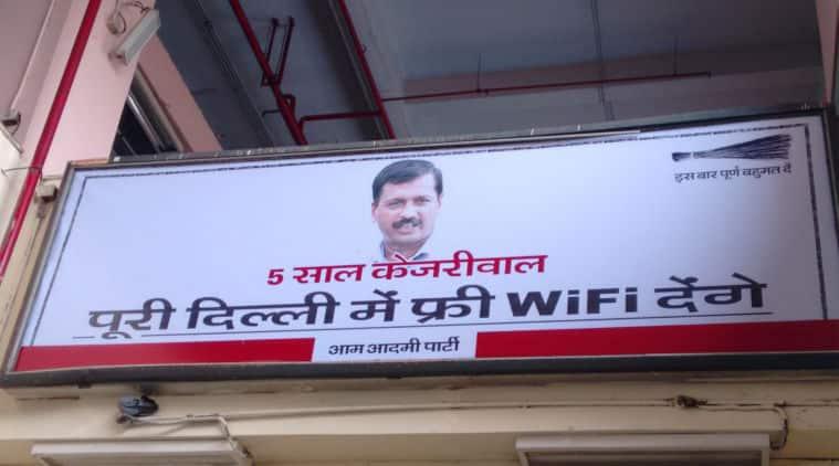 wifi, free wifi, delhi free wifi, aap free wifi, arvind kejriwal, aap, aam aadmi party, aap news, wifi news, adarsh shastri news, delhi news