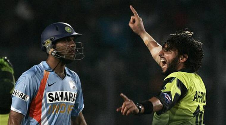 India vs Pakistan, Yuvraj Singh for Indo-pak cricket, Shahid Afridi for India vs PAk cricket, Yuvraj Singh and Shahid Afridi