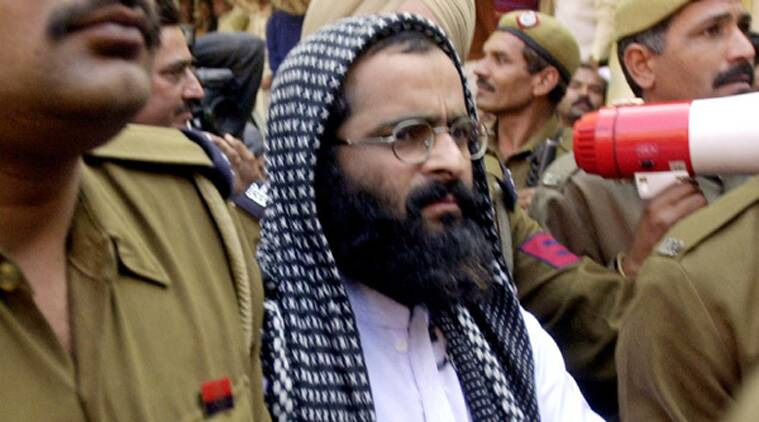 Afzal Guru, Afzal Guru death anniversary, Jammu and Kashmir, J-K on high alert, Afzal Guru hanging, Indian Express