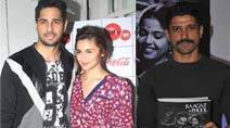 Of launches: Alia Bhatt, Sidharth Malhotra, Farhan Akhtar