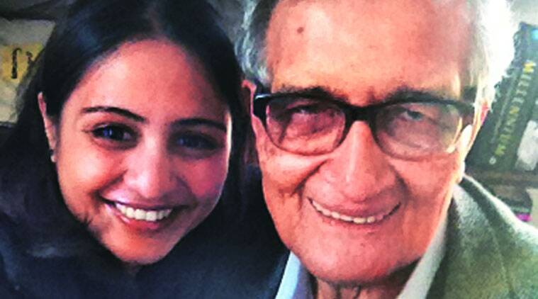 amartya sen, pune girl, harvard fellowship