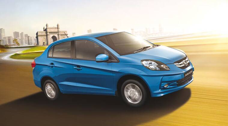 Honda has chosen not to make any additional changes on the exterior design and interior layout of the Amaze CNG.