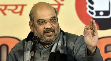 Amit Shah, BJP, Narendra Modi, Modi Govt, Modi Govt one year, BJP conclave, mumbai news, city news, local news, maharashtra news, Indian Express