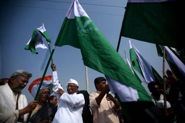 Anna Hazare, Anna protest, Land Acquisition Act