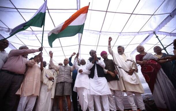 Anna Hazare, Anna protest, Land Acquisition Act
