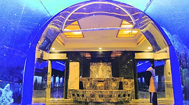 The Taraporewala aquarium on Charni Road will be thrown open to the public from February 27. (Source: Express Photo)
