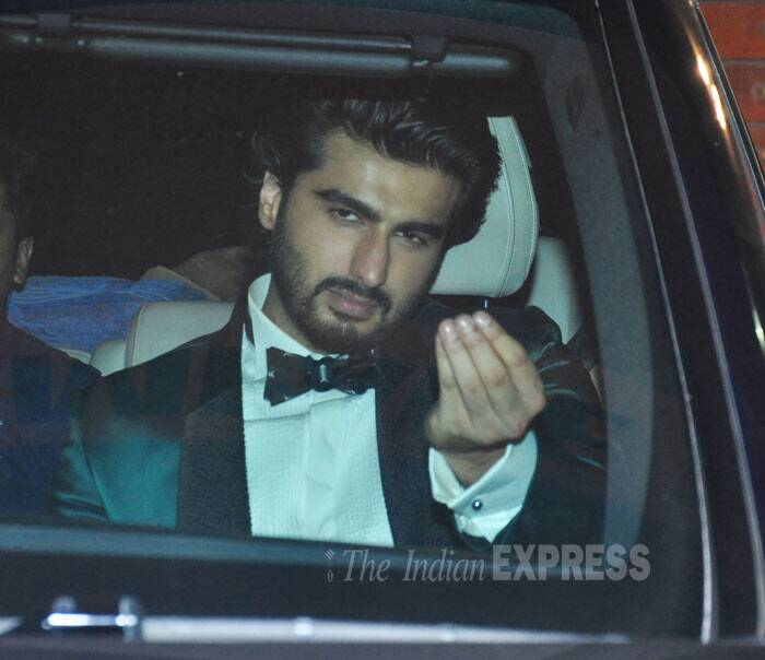 arjun kapoor, arjun kapoor at filmfare awards