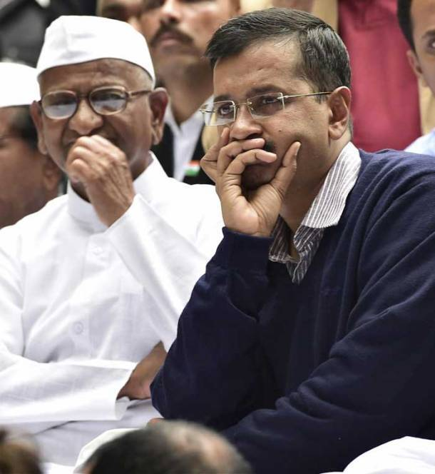 arvind kejriwal, land acquisition bill, delhi, anna hazare