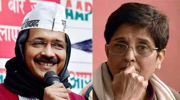 Arvind Kejriwal, Kiran bedi, Exit polls, Delhi assembly polls, Delhi elections, BJP