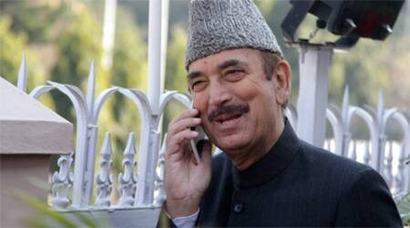 INTERVIEW -- Govt in J&K will be run from Nagpur: Ghulam Nabi Azad