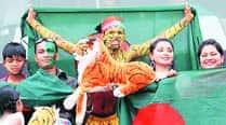 World Cup 2015: Shoaib 'Tiger' Bukhari is Bangladesh's most recognisablefan