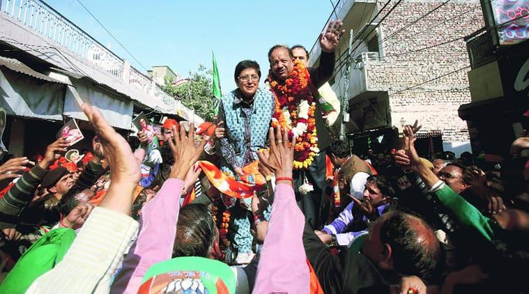Kiran bedi, BJP, delhi polls