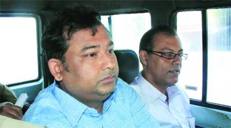 Businessman Shibaji Panja in Mamata Banerjee entourage held