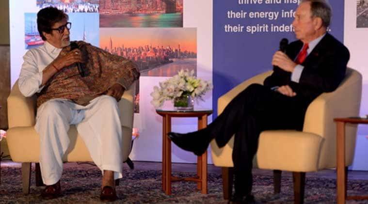 Amitabh Bachchan, Bloomberg