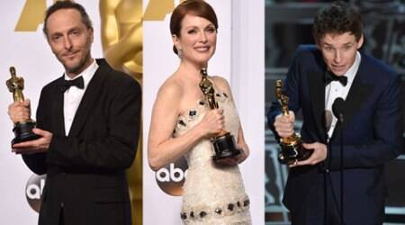 Oscars 2015: Eddie Redmayne, Julianne Moore adjudged Best Actor, Actress, 'Birdman' wins four