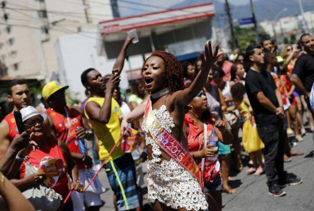 brazil curly hair carnival, Black pride Brazil, Brazil, Carnival Curls, Black pride, Afro-Brazilian women, picture gallery, indian express