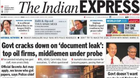 #Express5: Government cracks down on 'document leak' from the Petroleum Ministry ; Gujarat offers online option of voting