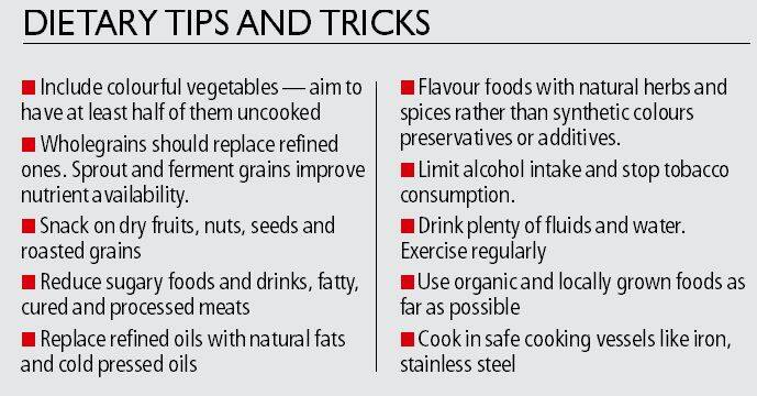 Diet diary: Eating healthy and fighting cancer go hand in