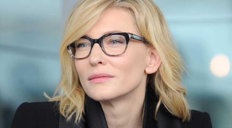 Cate Blanchett was photographed slipping off her shoes following red carpet session at the event.