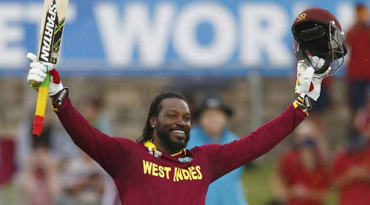 Chris Gayle, Chris gayle century, Chris gayle world cup, world cup 2015, world cup record, first double century, wi vs zim, west indies vs zimbabwe, wi vs zim 2015, gayle double century