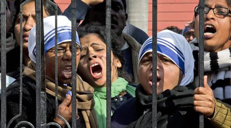 Rajnath Singh, Church attacks, Rajnath Church