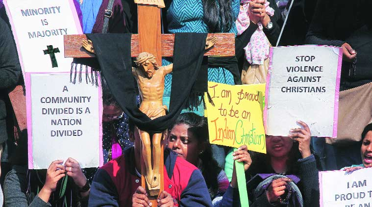 church attack , attack church, christian protest, Sacred Heart Cathedral , delhi news, city news, church protest