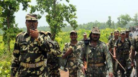 jharkhand IED blast, sniffer dog IED blast, Jharkhand sniffer dog, IED blast, anti-naxal operations, jharkhand news, india news, latest news, indian express