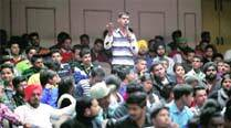 UT SSP briefs DAV College students on women safety app