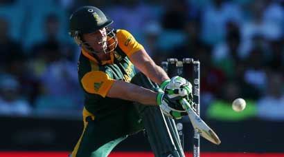 De Villiers, South Africa make a statement