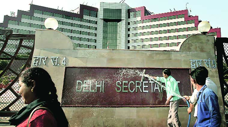 The secretariat gets a scrubbing on Friday, a day before the swearing-in. Ravi Kanojia