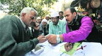Near-70% turnout at Cantt, Rohtas Nagar