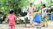 Drought  in Marathwada: Only children, old and crippled left in parched villages