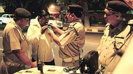 Uttar Pradesh: 200 booked on New Year for drunken driving