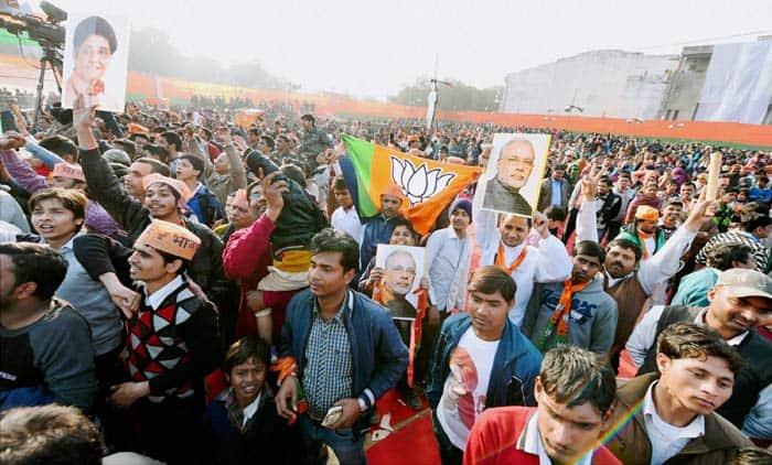 BJP, delhi elections 2015, elections in delhi, modi, kejriwal