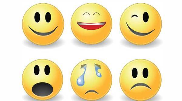"""Do you love to post """"smiley"""" emoticons in your chats and messages on WhatsApp or Facebook?"""