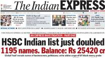 #Express5: HSBC Indian list just doubled to 1195 names; Bihar governor's options