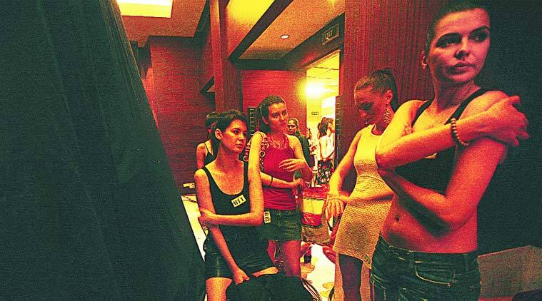 Models during the auditions for the country's biggest fashion event. (Source: Express Photo by Praveen Khanna)