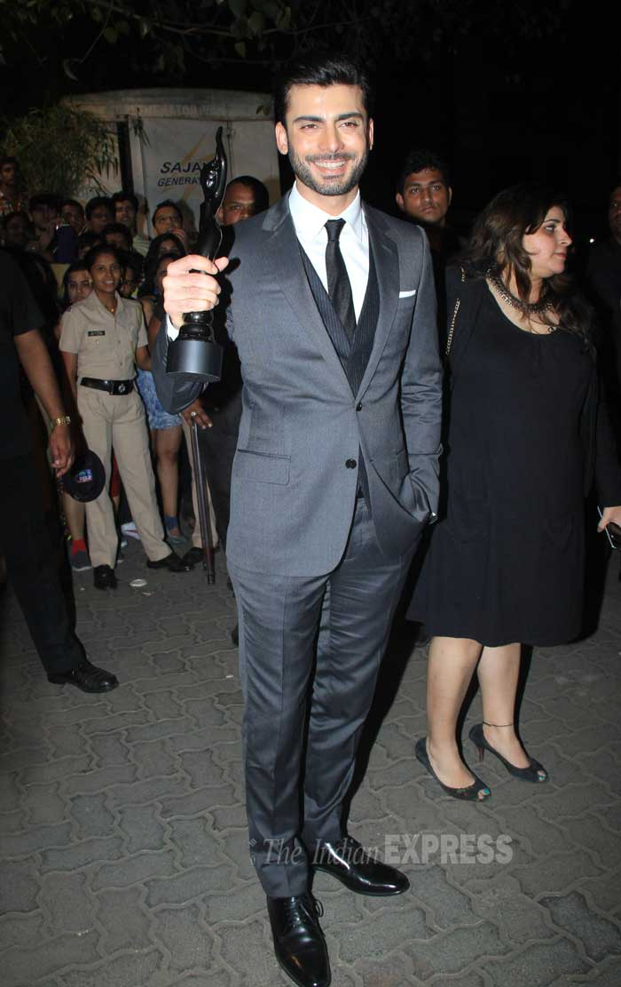 fawad khan, fawad khan at filmfare awards