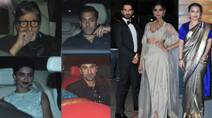 Bollywood A-listers including Amitabh Bachchan, Sonam Kapoor, Salman Khan at Filmfare awards 2015