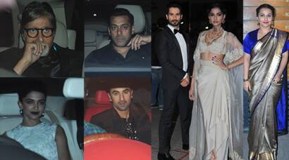 Bollywood A-listers at Filmfare awards 2015