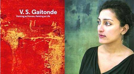 talk, interview, express talk, art, autore, art historian, sudhini poddar, V S Gaitonde, Painting as a Process, Painting as Life