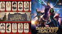The Grand Budapest Hotel, Guardians of the Galaxy win makeup, hairstyle awards