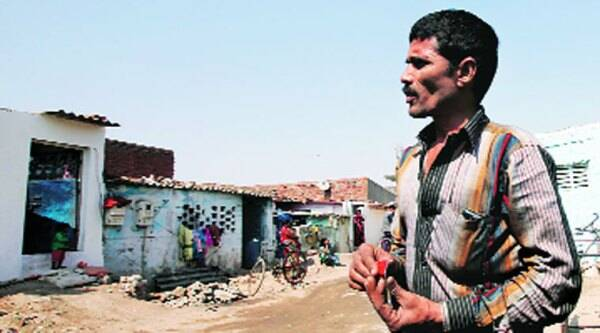 Dacoit Dhara Singh's brother Raju Singh. (Express photo by Javed Raja)