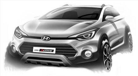 Hyundai reveals i20 Active crossover in sketch