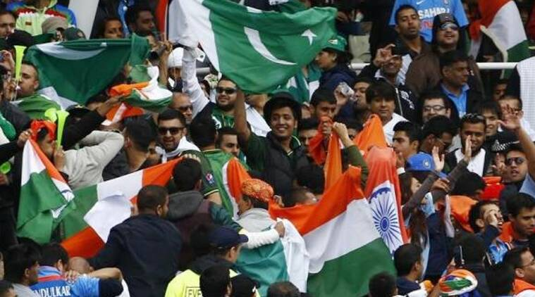 On Saturday, the eve of another India-Pak World Cup game, another war movie was playing out.