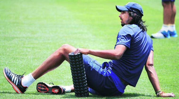 Ishant Sharma was suffering from a knee injury.  (File photo)